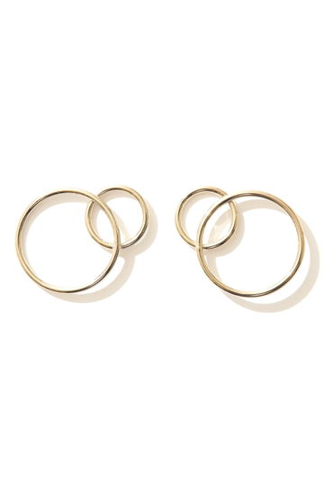 JUSTINE CLENQUET Lea earrings gold