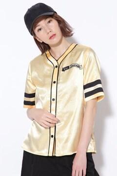 ベースボールシャツブラウス