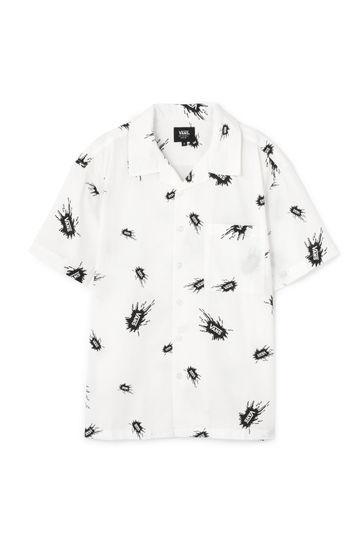 VANS プリントシャツ