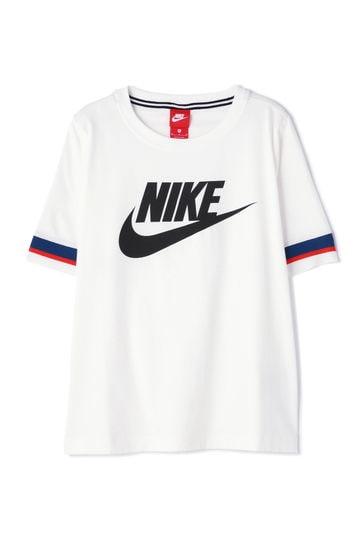 NIKE ロゴラインTシャツ