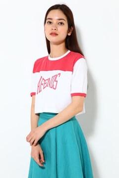 クロップドロゴTシャツ