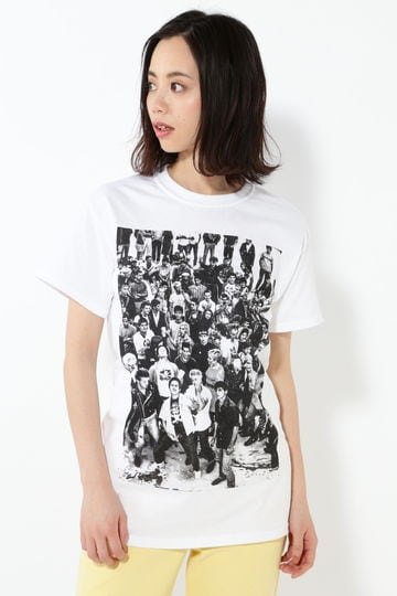 マリナスケートパークプリントTシャツ