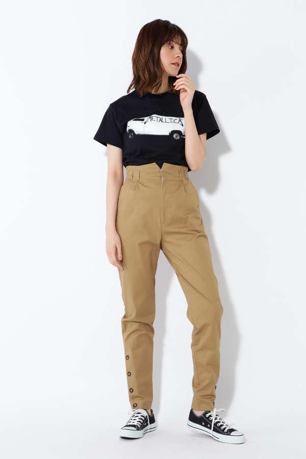 METALLICAロゴプリントTシャツ