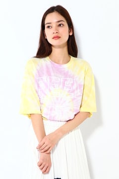 タイダイ柄ロゴTシャツ