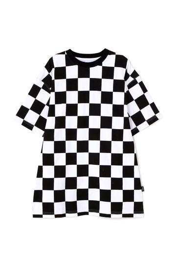VANS チェッカープリントTシャツ