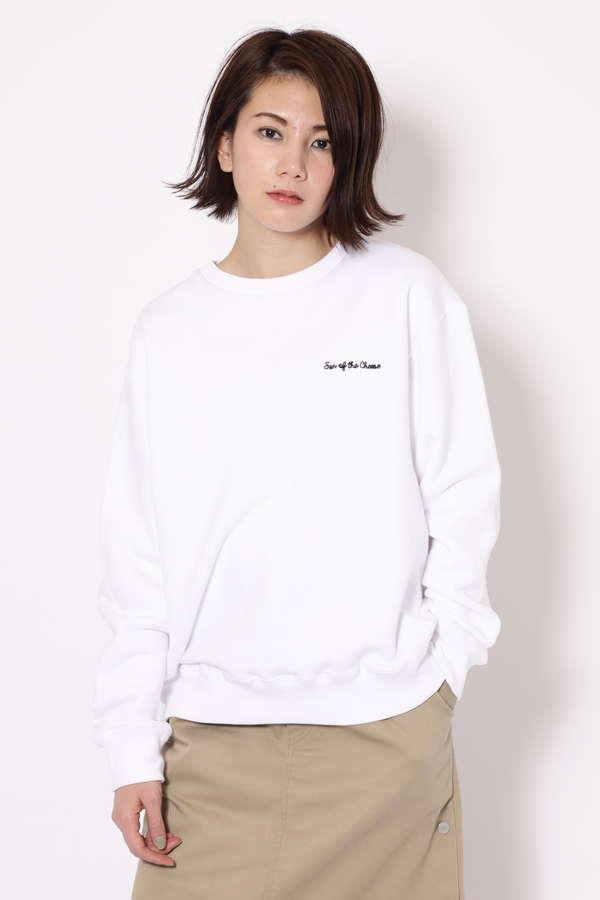 【WEB限定/ROSE BUD別注】バックロゴトレーナー