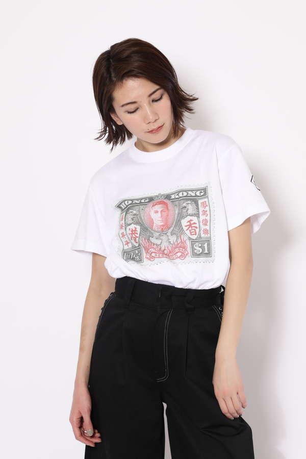 【WEB限定/ROSE BUD別注】スタンププリントTシャツ
