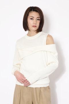 【ROSE BUD別注】アシメトリーニット