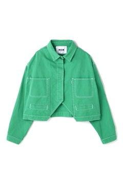 グリーンショートジャケット