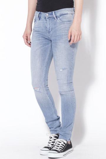 Calvin Klein Jeans ハイライズスキニーデニムパンツ
