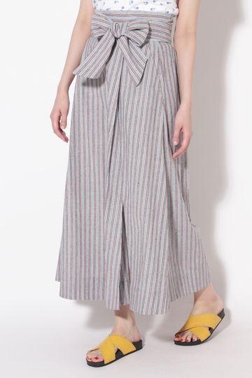 ベルテッドマキシスカート