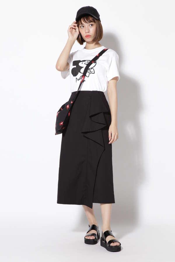 サイドラインカジュアルタイトスカート