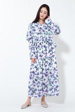 ヴァイオレットミディ丈ドレス