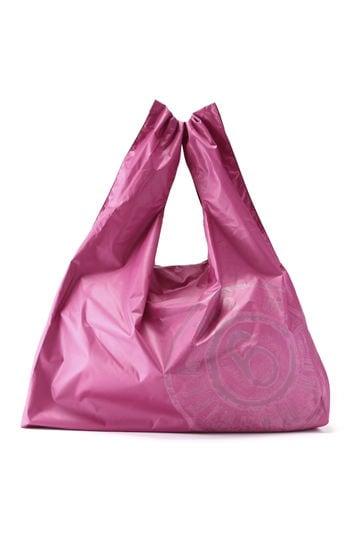 ロゴ入りナイロンショッピングバッグ