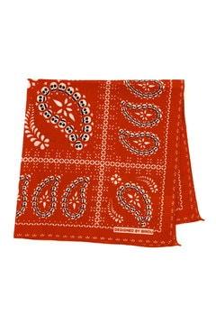 スカルプリントバンダナスカーフ