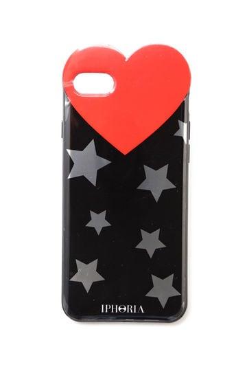 ハート×スターiPhone8ケース