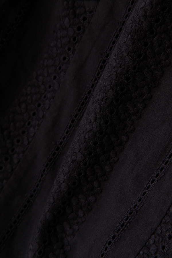 刺繍ノースリーブブラウス