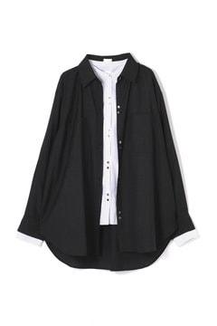 【WEB限定】ダブルレイヤードシャツ