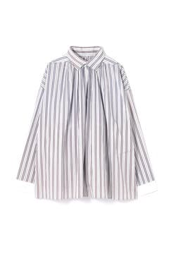 【WEB限定】ストライプシャーリングシャツ