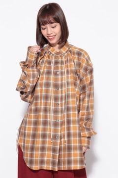【WEB限定】チェックフォールドシャツ