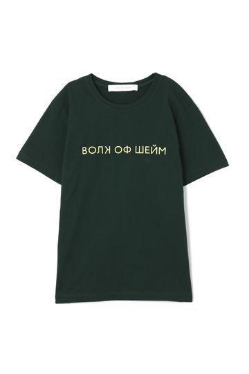 【先行予約 8月中旬-下旬入荷予定】【WEB限定】エンブロイダリーロゴTシャツ