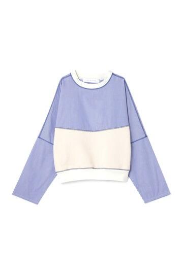 【先行予約 8月中旬-下旬入荷予定】【WEB限定】デザイン切替えスウェットシャツ