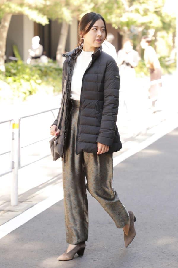 【ROSE BUD別注】リバーシブルフードダウンコート