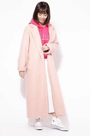 【先行予約 9月中旬-下旬入荷予定】【ROSE BUD別注】マキシ丈ロングコート