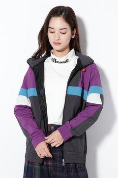 カラーブロックウィンドジャケット