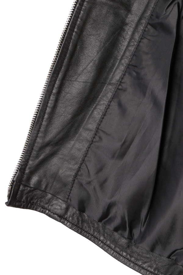 レザーシングルジャケット