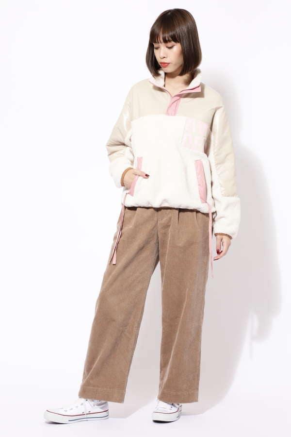 [mina12月号掲載]【ROSE BUD別注】ロゴアノラック