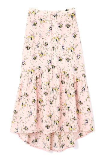 【先行予約 6月上旬-中旬入荷予定】ローズウッドミディスカート
