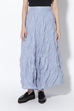 ランダムプリーツマキシスカート