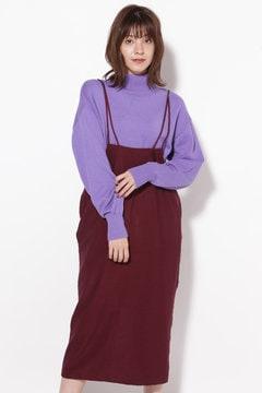 ストラップストレートスカート