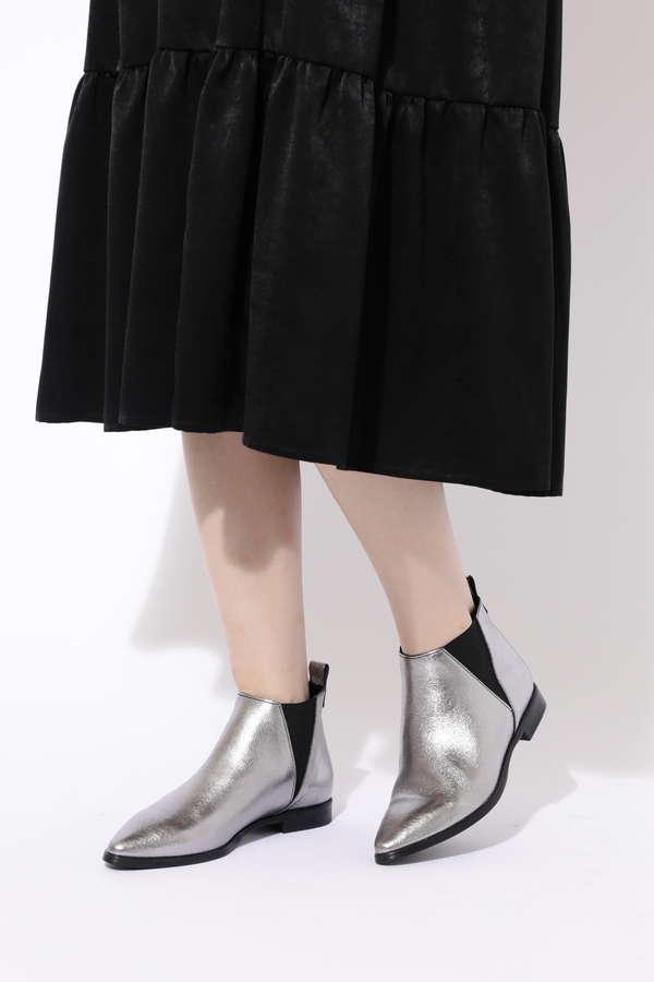 サイドゴアショートブーツ