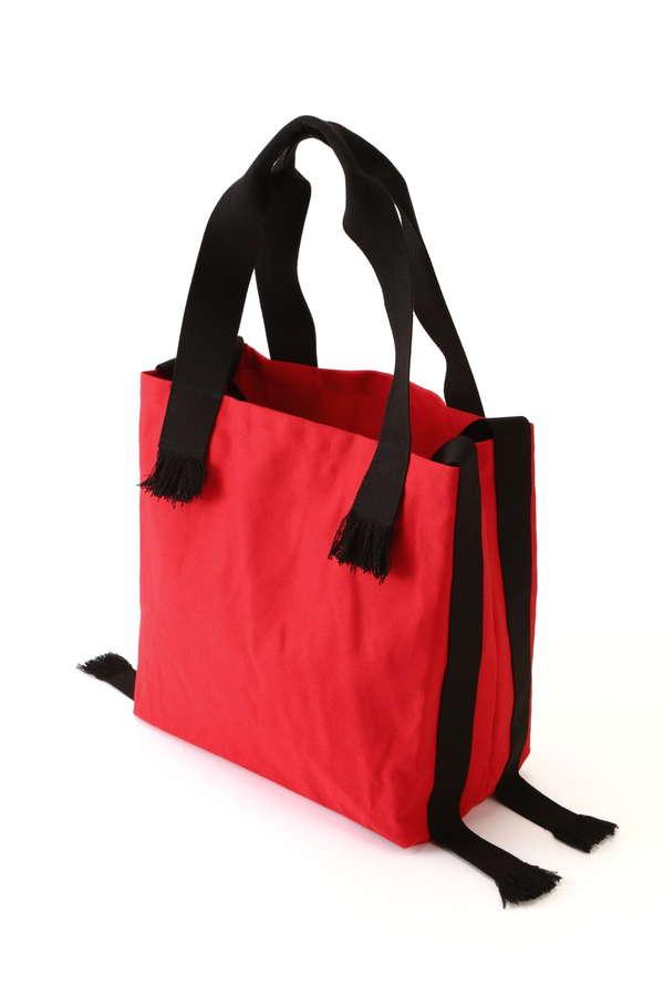 ロゴプリントトートバッグ