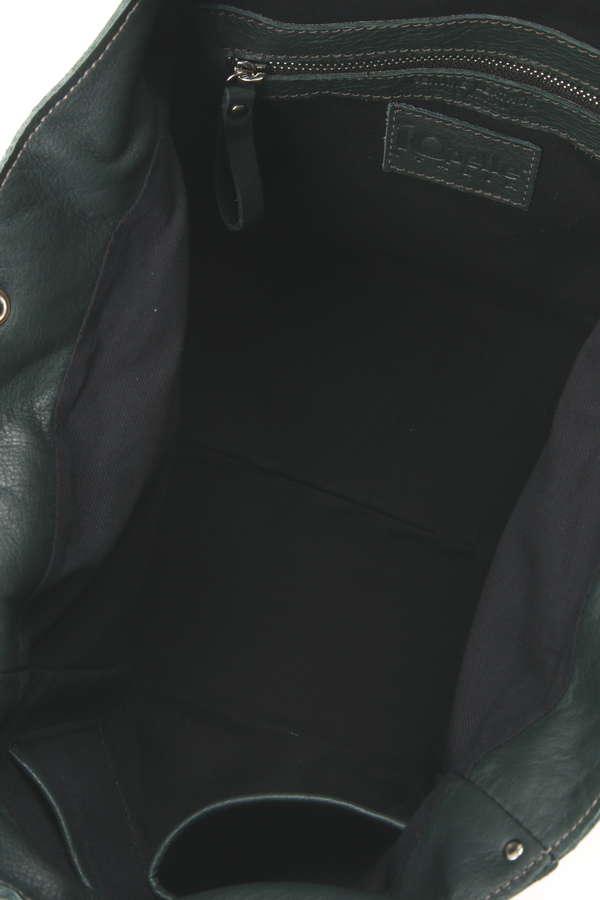 スカル&スタッズ付きトートバッグ
