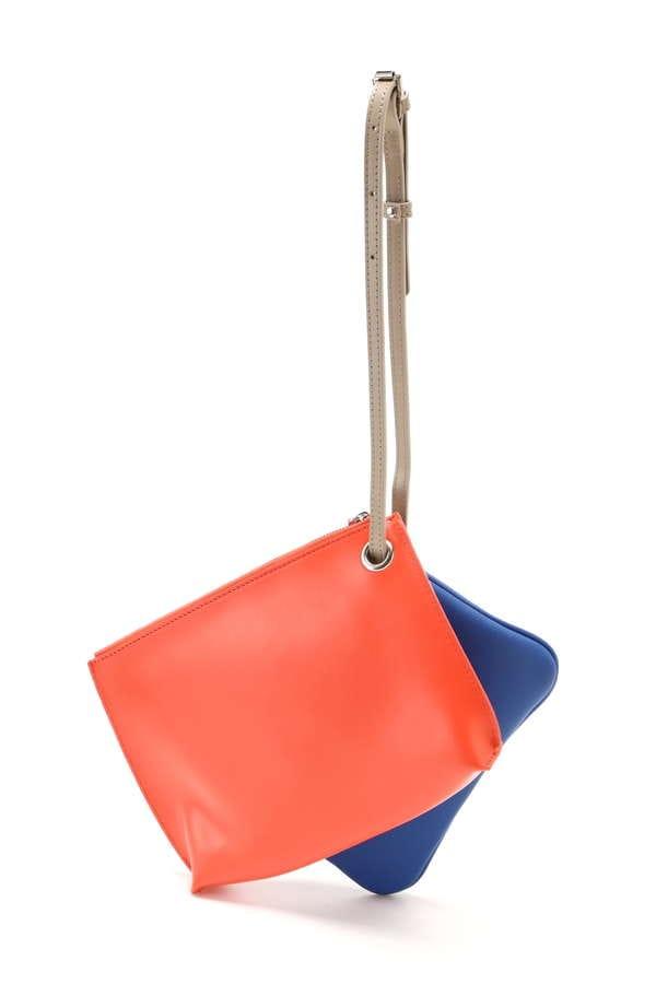 カラーミニクラッチバッグ