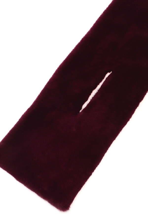 リバーシブルエコファーマフラー