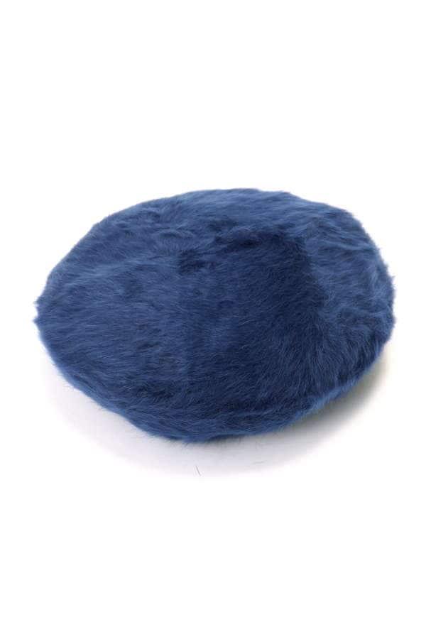 ロゴ刺しゅうファーベレー帽