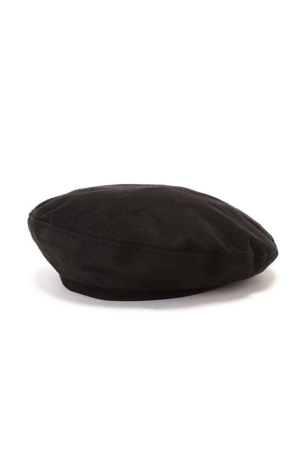 バックリボンベレー帽