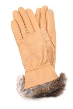 タッチパネル対応レザー手袋