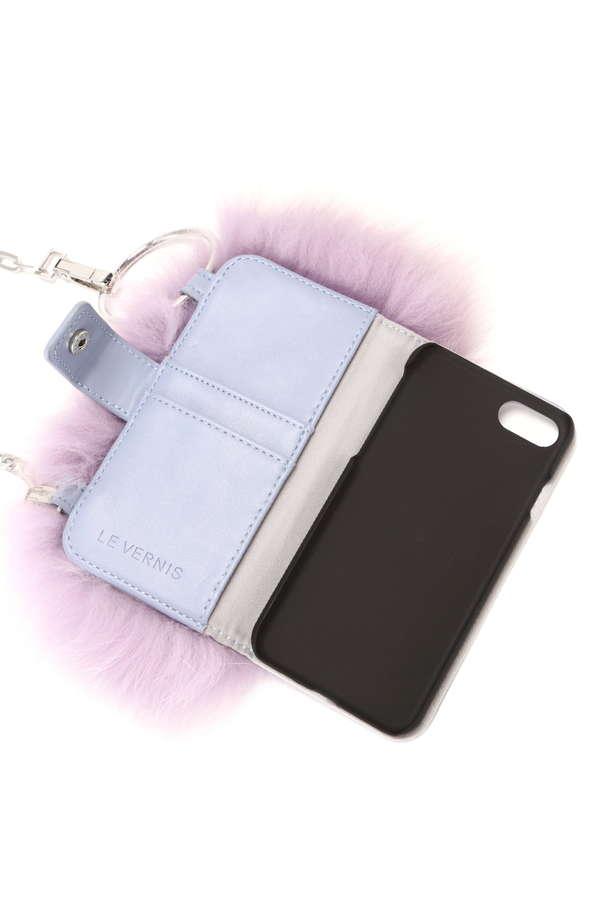 ファーポシェット型iPhone7/8ケース