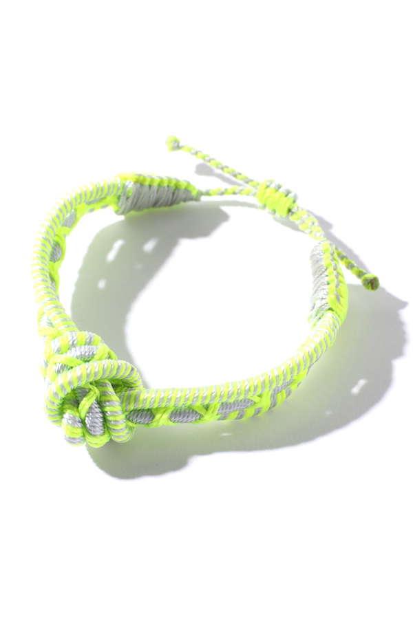 ロープカラーブレスレット