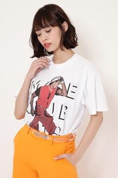 【ROSE BUD別注】フォトプリントTシャツ