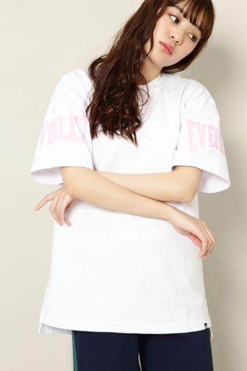 EVERLASTロゴプリントTシャツ