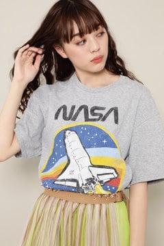 NASAプリントTシャツ
