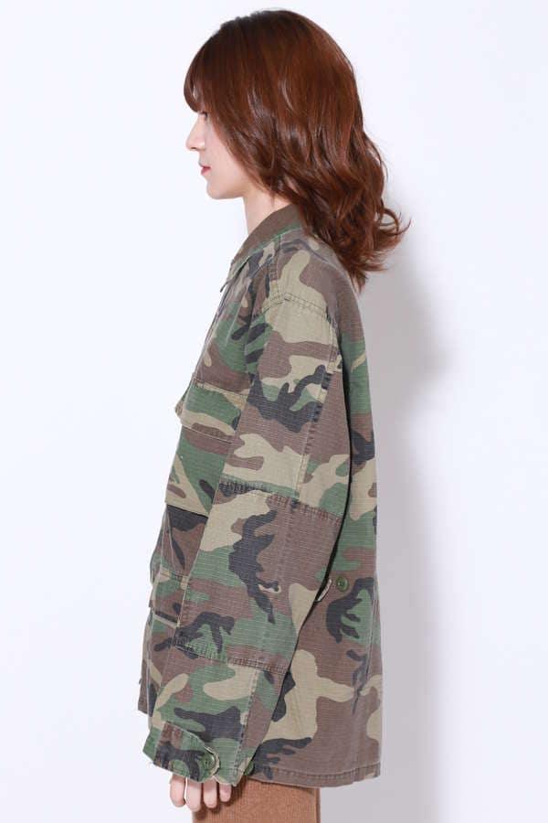 ミリタリーシャツジャケット