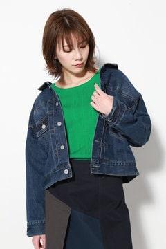 抜け襟ジャケット