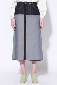 リメイク風台形スカート